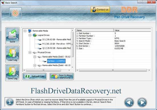 Program to restore damaged digital media file
